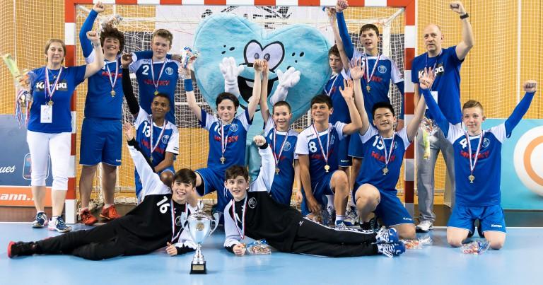 U14 Jongen gewannen Coupe!