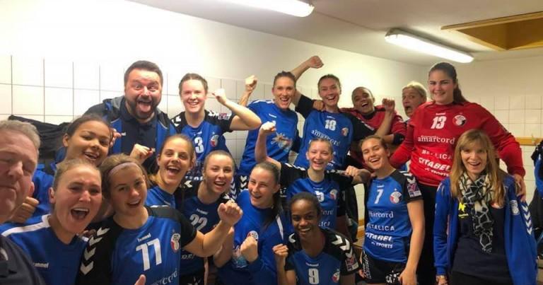 Siegerselfie !! Esch – Dames 1 – 18 – 37