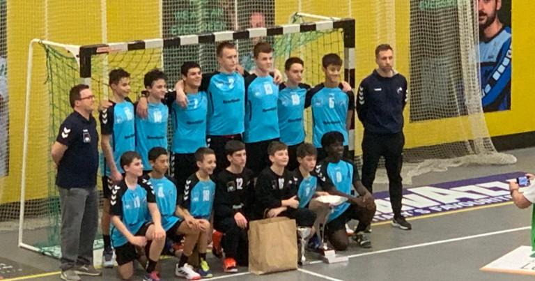 U15 Jongen Nationalequipe gewennt Tournéier zu Bierchem