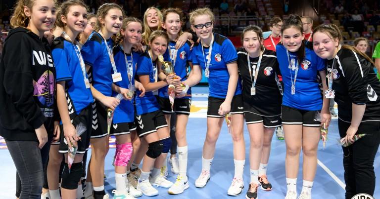 U13 Meedercher gewannen och Coupe géint Käerjeng !