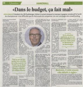 Revue de presse - Le Quotidien,
