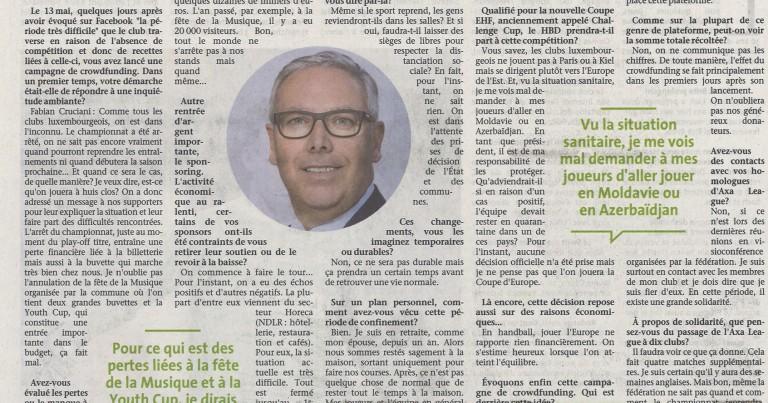Fabian Cruciani – Artikel am Quotidien