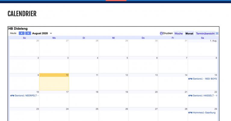 Neien HBD Kalenner
